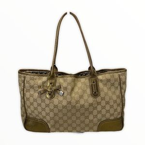 Gucci Tote bag Light Brown canvas 869143